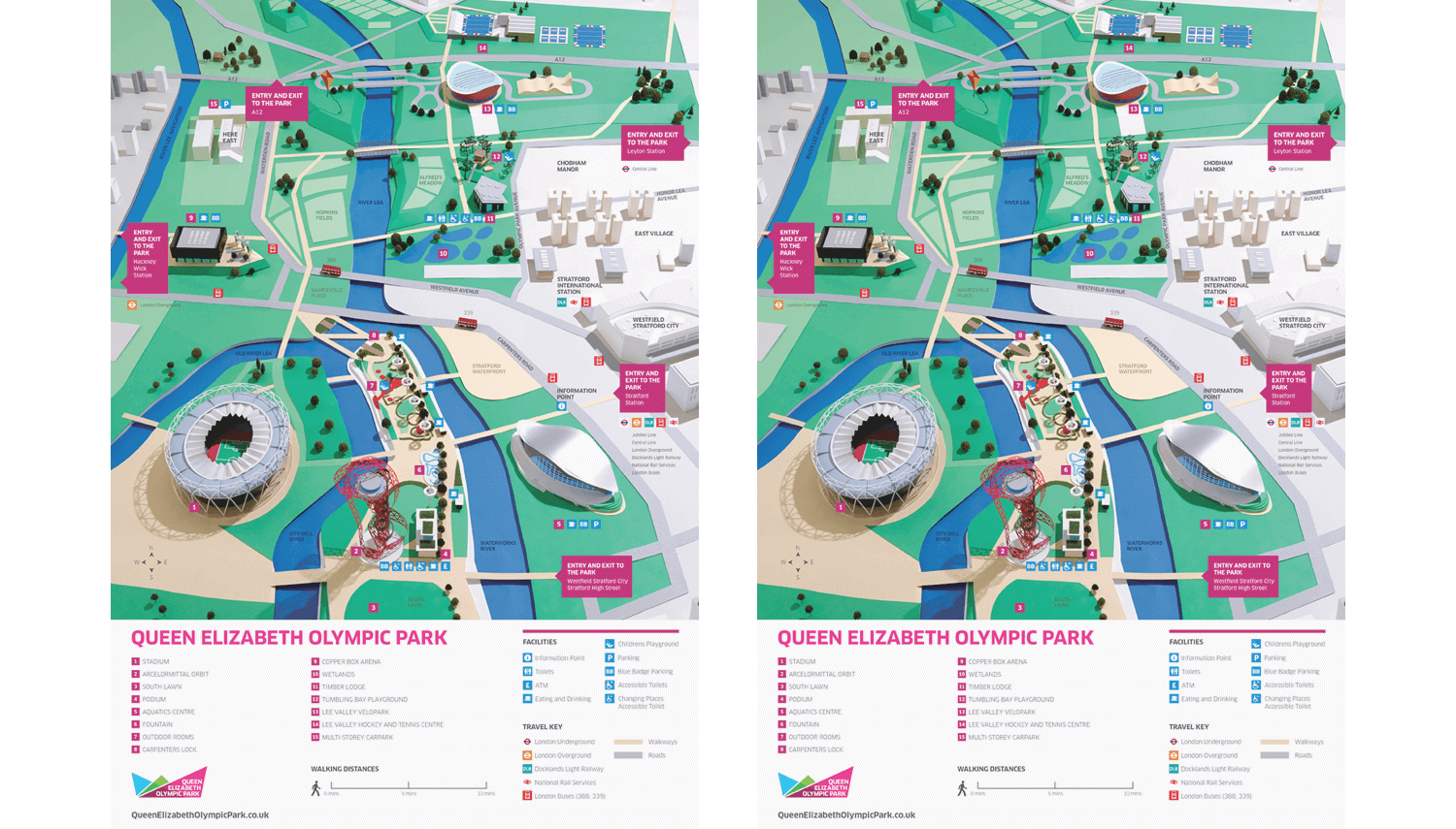 1 2 3 4 ADVERTISINGOlympic Park Map