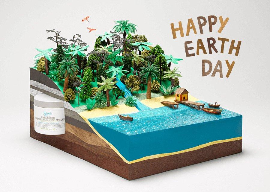 Hattie Newman Kiehls Earth Day