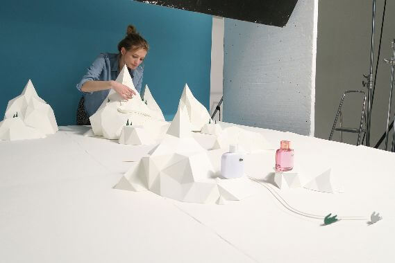 Lacoste Christmas behind the scenes