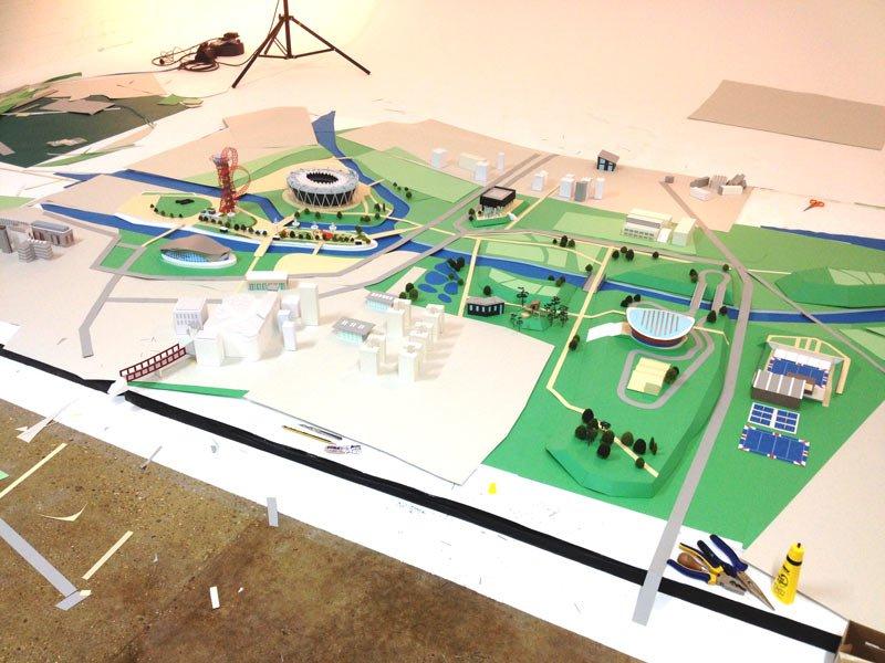 Queen Elizabeth Olympic Park behind the scenes