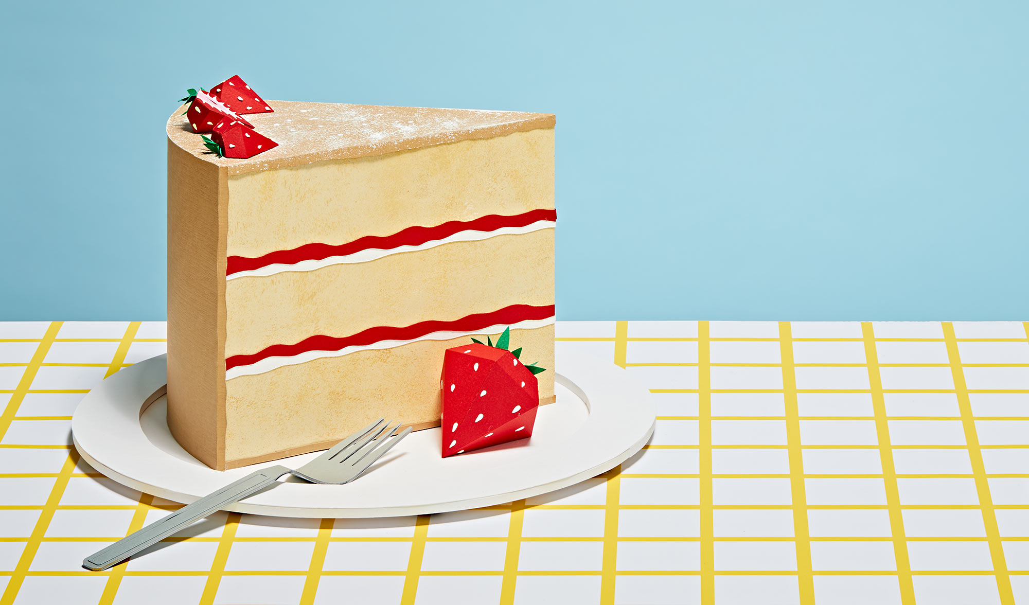 hatti newman food paper artist cake