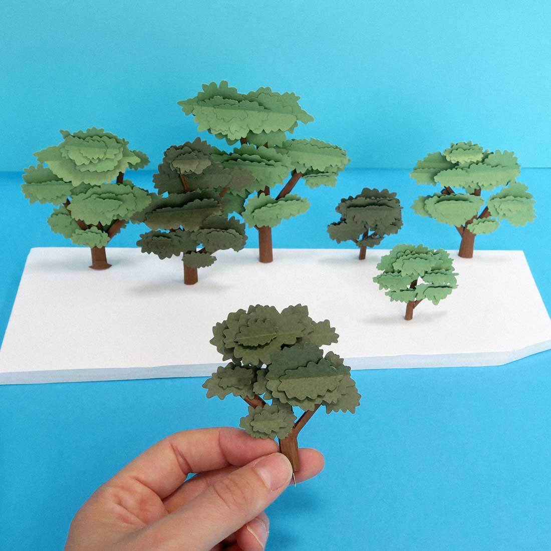 paper art hattie newman yeo valley